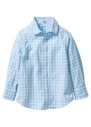 Рубашка для Октоберфеста, Размеры  80/86-128/134 (лазурный/белый в клетку) Bonprix
