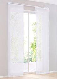 Японская штора Майнц (1 шт.), петли (белый) Bonprix