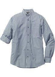 Рубашка Regular Fit  в традиционном стиле (зеленый/белый в клетку) Bonprix