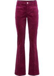 Вельветовые брюки (черный) Bonprix