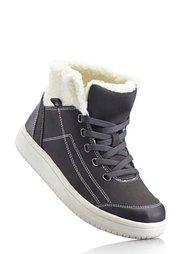 Ботинки на шнурках (бордовый/черный/бежевый) Bonprix
