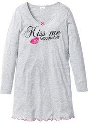 Ночная рубашка (горячий ярко-розовый с рисунко) Bonprix