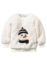 Плюшевый пуловер, Размеры 80/86-128/134 (светло-сиреневый) Bonprix