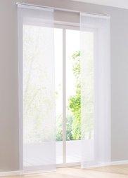 Японская штора Дарси (1 шт.), петли (белоснежный) Bonprix