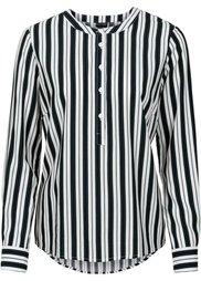 Блузка (цвет белой шерсти/сине-зеленый) Bonprix