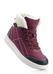 Ботинки на шнурках (светло-серый/антрацитовый) Bonprix
