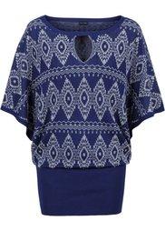 Пуловер с блестящим эффектом (черный/золотистый) Bonprix