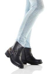 Байкерские ботинки (черный) Bonprix