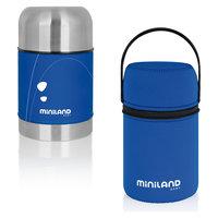Термос для еды в сумке Miniland SOFT THERMO FOOD 600 мл, синий