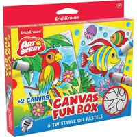 Набор для творчества Canvas Fun box Artberry Erich Krause