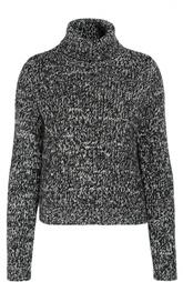 Пуловер крупной вязки с высоким воротником Moncler