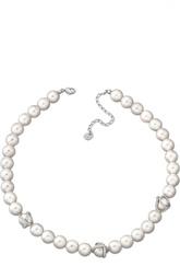 Ожерелье Nude c жемчужинами Swarovski