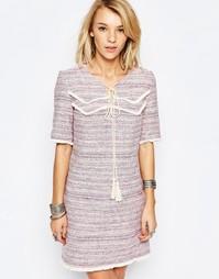 Платье с кисточками Deby Debo Rythme - Роза