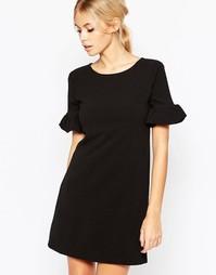 Цельнокройное платье Hedonia Pearl - Черный