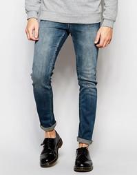 Серые джинсы Cheap Monday Tight Ric - Синий