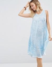 Платье мини с принтом Anmol