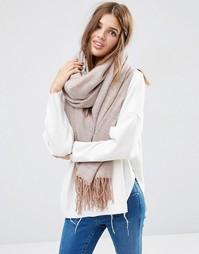 Свободный шарф с бахромой ASOS - Мульти