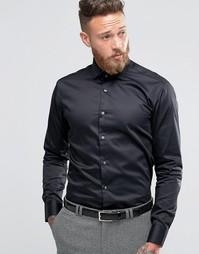 Рубашка зауженного кроя Ted Baker - Черный