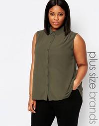 Рубашка без рукавов Koko Plus - Хаки