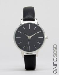 Наручные часы с черным циферблатом ASOS CURVE - Черный