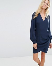 Y.A.S Kalay Dress - Navy blazer