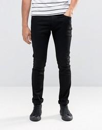 Черные стретчевые джинсы скинни Replay Jondrill - Rinse black