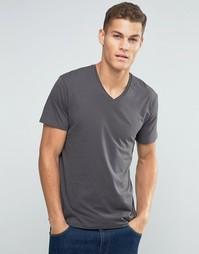 Базовая футболка с V‑образным вырезом Esprit - Серый минерал