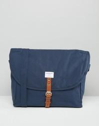 Синяя сумка через плечо Sandqvist Jack - Синий