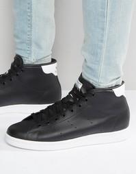 Кроссовки средней высоты adidas Originals Stan Smith S75027 - Черный