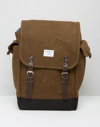Рюкзак из вощеной парусины Sandqvist Bob - Зеленый