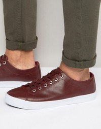 Bellfield Plimsolls In Red - Красный