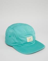 5-панельная кепка Hollister - Зеленый