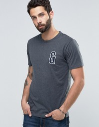 Only & Sons T-Shirt in Crew Neck with Chest Embroidery