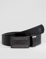 Черный кожаный ремень G-Star Daber - Черный