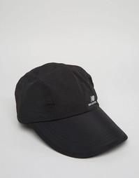 Черная кепка New Balance LT - Черный