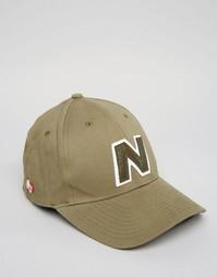 Зеленая кепка New Balance Yankey - Зеленый