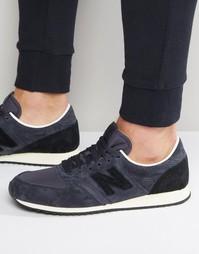 Синие кроссовки New Balance 420 U420NK - Синий