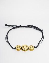 Браслет с тремя пулями Lovebullets - Черный