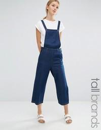 Укороченный джинсовый комбинезон Vero Moda Tall - Indigo - индиго
