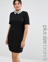 Цельнокройное платье Lovedrobe - Черный