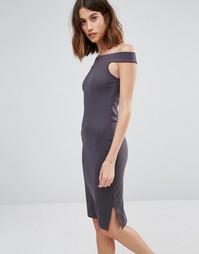 Трикотажное платье-футляр с широким вырезом Vero Moda - Mgm