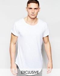 Свободная удлиненная футболка с круглым вырезом G-Star Be RAW Exclusiv