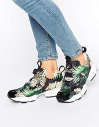 Кроссовки с тропическим принтом Reebok X Jungle Gurl X Natalie Golonka
