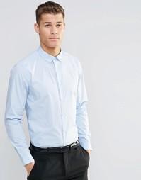 Голубая рубашка классического кроя ASOS - Светло-голубой