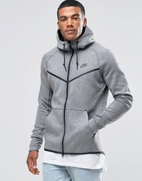 Серая ветровка Nike TF 805144-091 - Серый