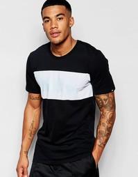 Черная футболка с принтом Nike 805023-010 - Черный