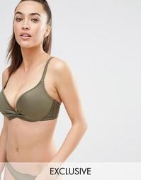 Бикини-топ с эффектом увеличения груди на 2 размера Wolf & Whistle