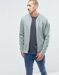 Трикотажная куртка‑пилот цвета хаки ASOS - Зеленый