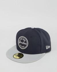 Кепка New Era 59Fifty Emblem - Темно-синий