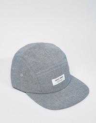 5-панельная кепка Jack & Jones - Синий